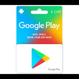 Google Play 5 CHF