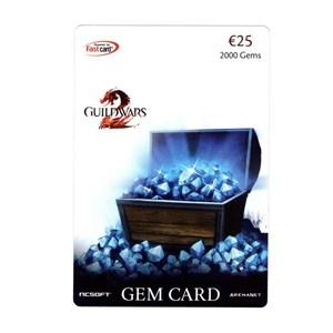 Guild Wars 2 Gem Card 2000 Gems