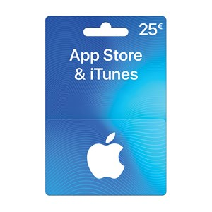 Apple iTunes Store 25€ Euro FR