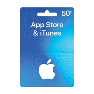 Apple iTunes Store 50€ Euro FR