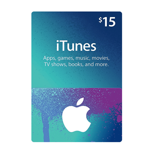 Apple iTunes Store 15$ Dollar USD