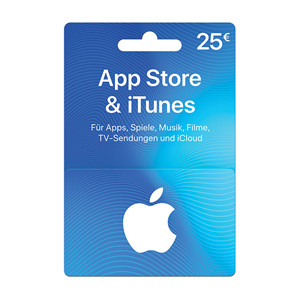 Apple iTunes Store 25€ Euro AT