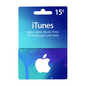 Apple iTunes Store 15€ Euro