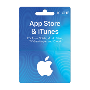 Apple iTunes Store 10 CHF