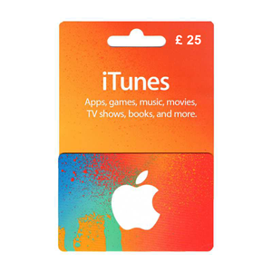 Apple iTunes Store 25£ GBP