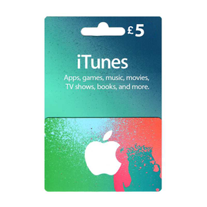 Apple iTunes Store 5£ GBP