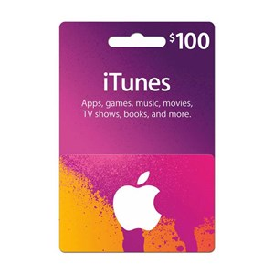 Apple iTunes Store 100$ USD