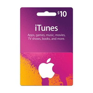 Apple iTunes Store 10$ Dollar USD