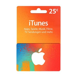Apple iTunes Store 25€ Euro