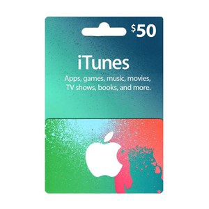 Apple iTunes Store 50$ Dollar USD