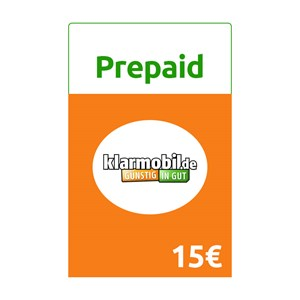 Klarmobil Prepaid 15€