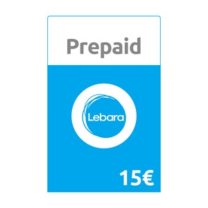 Lebara Prepaid 15€