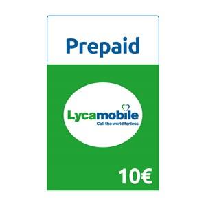 Lycamobile Prepaid 10€