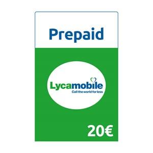 Lycamobile Prepaid 20€