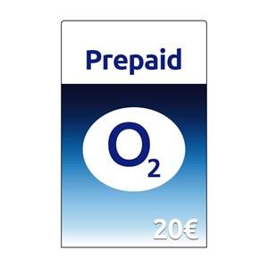 O2 Prepaid 20€