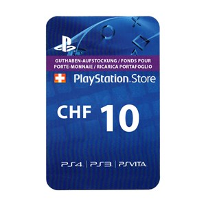 Playstation Network PSN CH 10 CHF