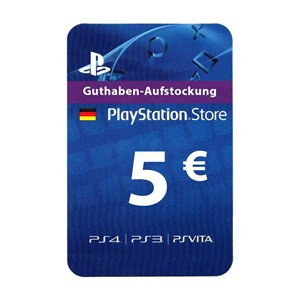 Playstation Network PSN DE 5€