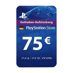 Playstation Network PSN DE 75€