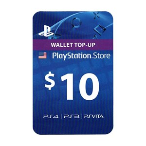 Playstation Network PSN US 10$ USD