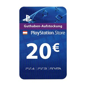 Playstation Network PSN AT 20€