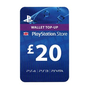 Playstation Network PSN UK 20£