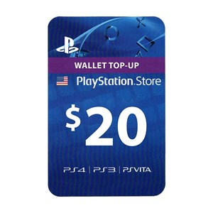 Playstation Network PSN US 20$ USD