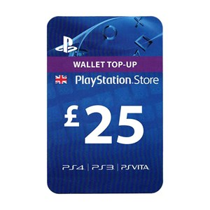 Playstation Network PSN UK 25£