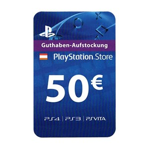 Playstation Network PSN AT 50€