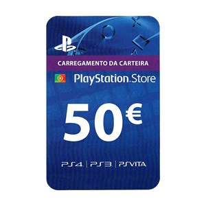 Playstation Network PSN PT 50€