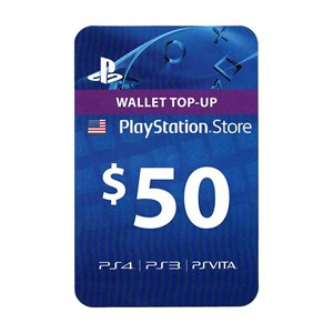 Playstation Network PSN US 50$ USD