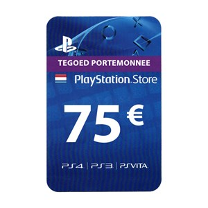 Playstation Network PSN NL 75€