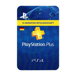 Playstation Plus DE 12 Monate Months