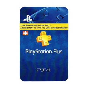 Playstation Plus CH 12 Monate Months