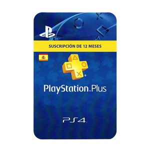 Playstation Plus ES 12 Meses Months