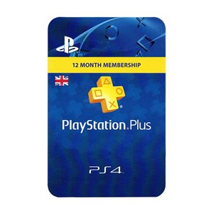 Playstation Plus UK 12 Months