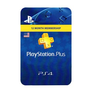 Playstation Plus US 12 Months