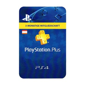 Playstation Plus AT 3 Monate Months