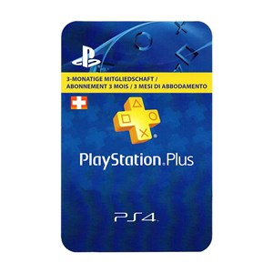 Playstation Plus CH 3 Monate Months