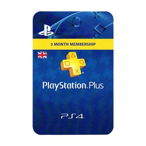 Playstation Plus UK 3 Months