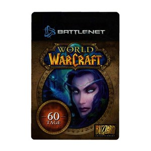 World of Warcraft WoW Gamecard 60 Days