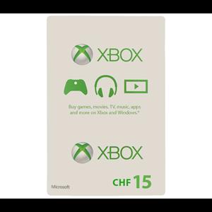 Xbox Live 15 CHF