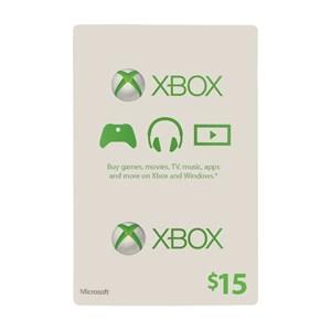 Xbox Live 15$ USD