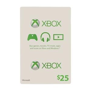 Xbox Live 25$ USD