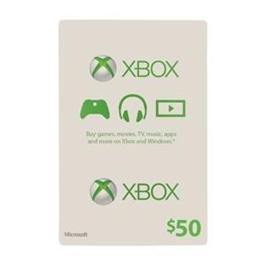Xbox Live 50$ USD