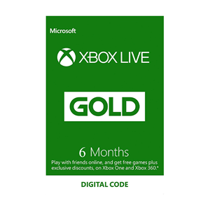 Xbox Live Gold Mitgliedschaft Membership 6 Monate Months