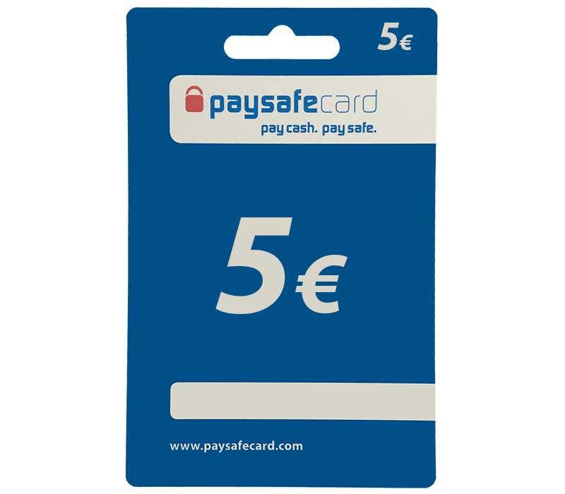 5 paysafecard kaufen